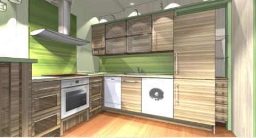 Интерьер кухни с барной стойкой. Фото 3