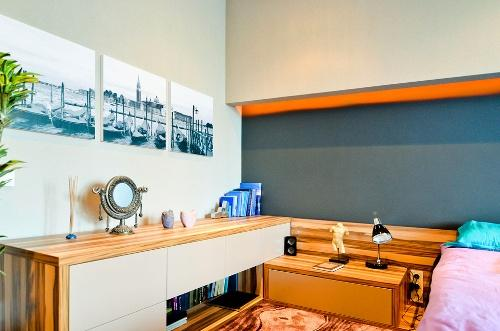 Интерьер трехкомнатной квартиры. Фото 9