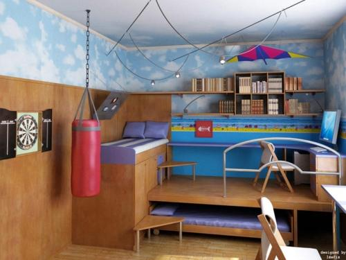 Как обустроить детскую комнату. Фото 9