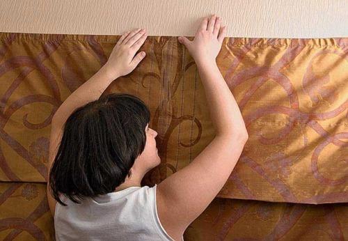 Как повесить шторы без карниза. Фото 5