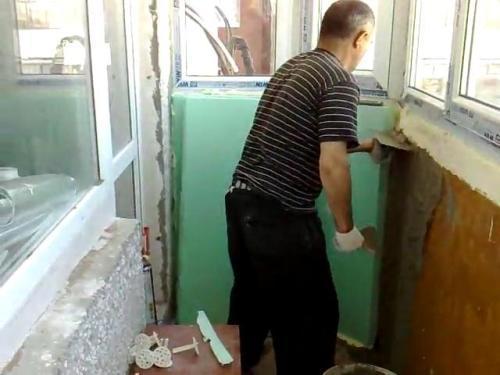 Как утеплить балкон своими руками?