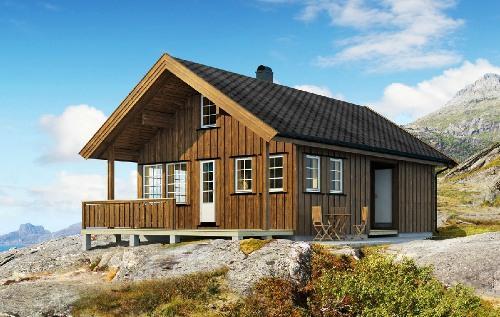 Каркасный дом по скандинавской технологии