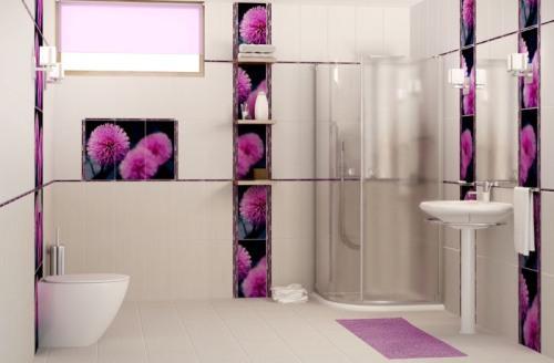 Керамическая плитка для ванной. Фото 8