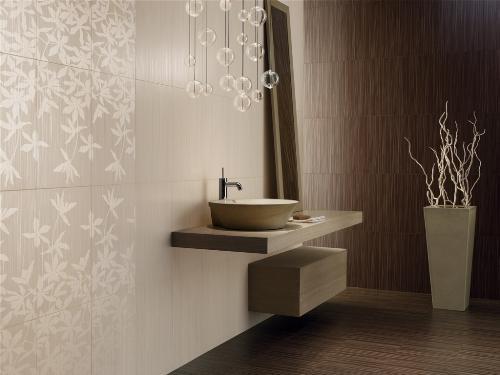 Керамическая плитка для ванной. Фото