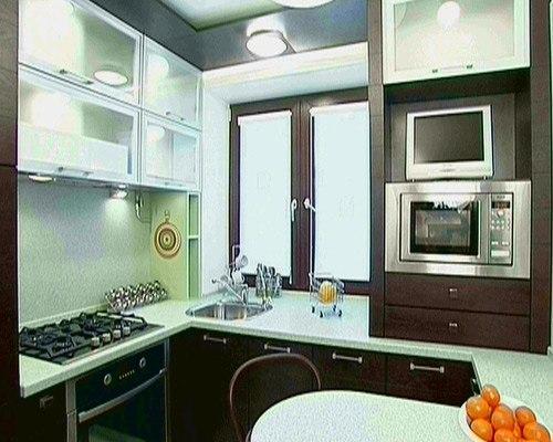 Кухни 10 кв. м. Фото 10