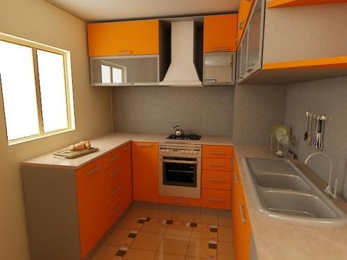 Кухни 10 кв. м. Фото 4