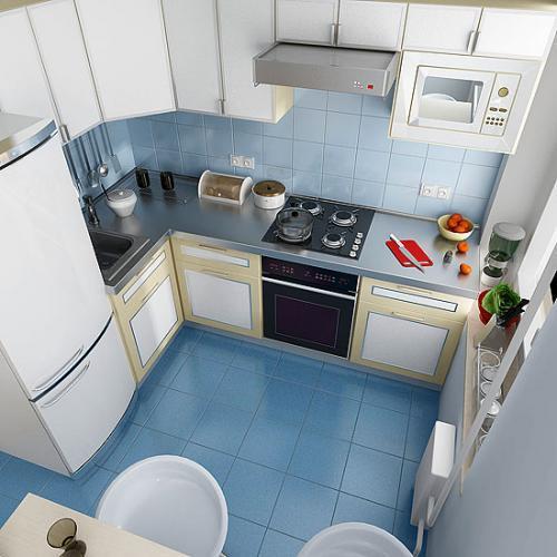 Кухни 10 кв. м. Фото 5