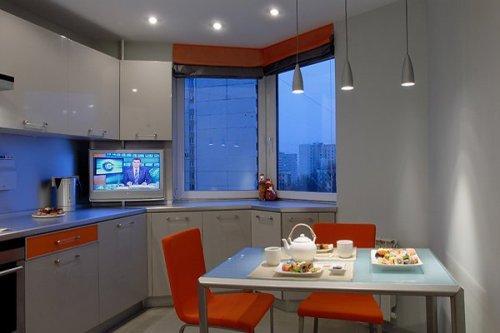Кухни 10 кв. м. Фото 6