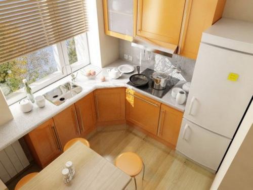 Кухни 10 кв. м. Фото 9