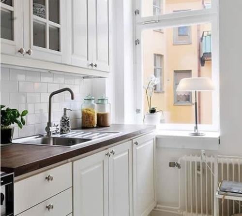 Кухни 8 кв. м. Фото 2