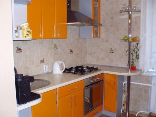 Кухни 8 кв. м. Фото 5