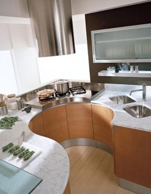 Кухни 8 кв. м. Фото 8