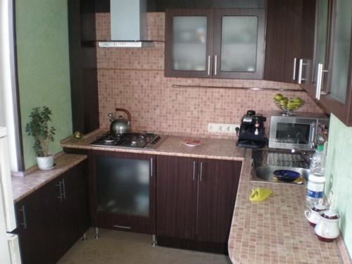 Кухни 8 кв. м. Фото 9