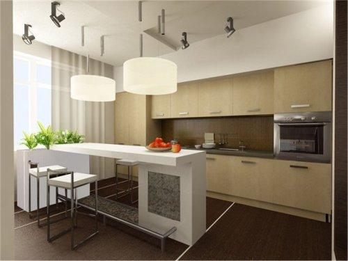 Кухня 14 кв. м. Фото 10