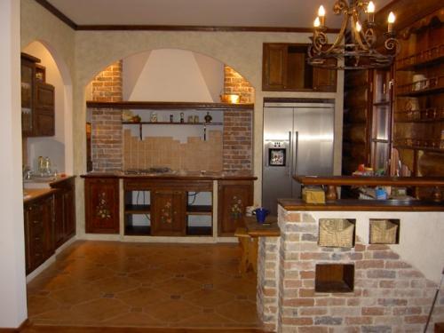 Кухня 14 кв. м. Фото 15