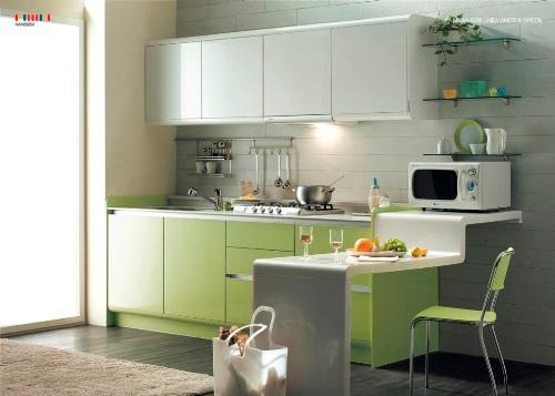 Кухня 14 кв. м. Фото 3