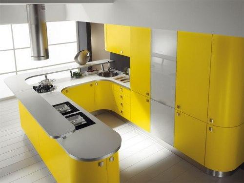 Кухня 14 кв. м. Фото 5
