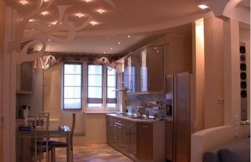 Кухня 14 кв. м. Фото 7