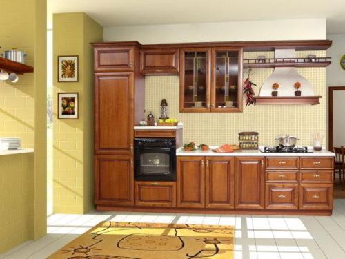 Кухня 14 кв. м. Фото 9
