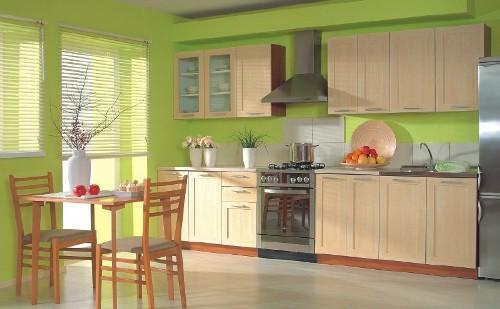 Кухня 14 кв. м. Фото