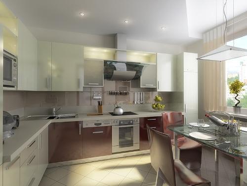 Кухня 15 кв. м. Фото 12