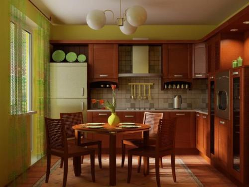 Кухня 15 кв. м. Фото 13