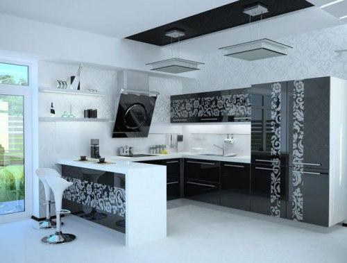 Кухня 15 кв. м. Фото 15