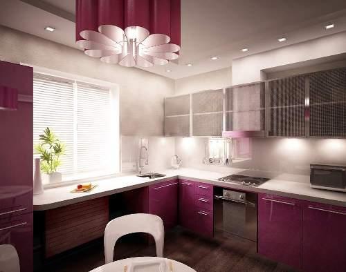 Кухня 15 кв. м. Фото 2