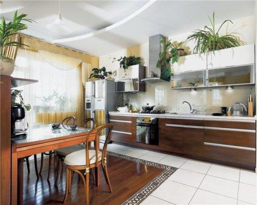 Кухня 15 кв. м. Фото 9