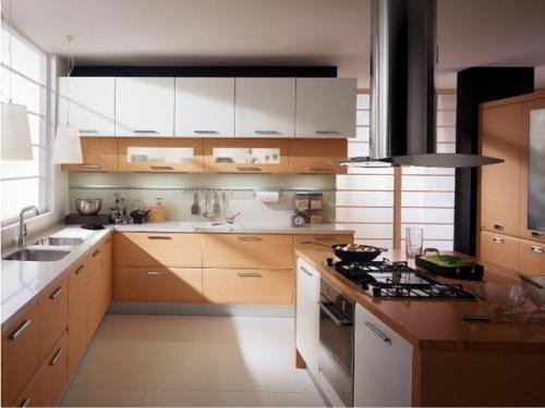 Кухня 15 кв. м. Фото