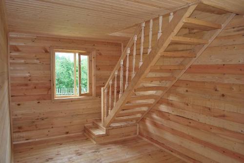 Лестница на мансарду. Фото 5