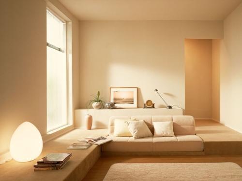 Минимализм в интерьере гостиной. Фото