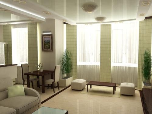 Минимализм в интерьере гостиной. Фото 4