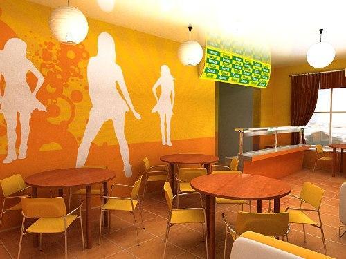 Минимализм в интерьере кафе. Фото 5