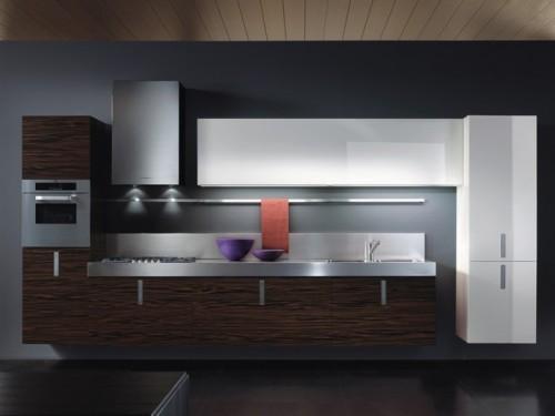 Минимализм в интерьере кухни. Фото 10