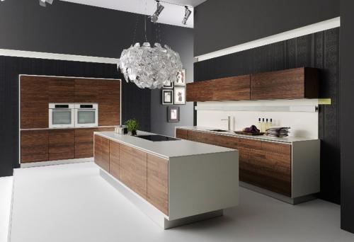 Особенность интерьера кухни в стили минимализм