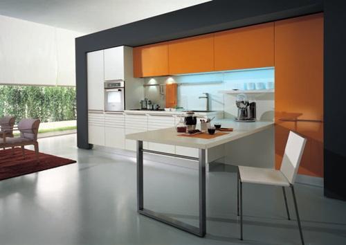 Минимализм в интерьере кухни. Фото 4