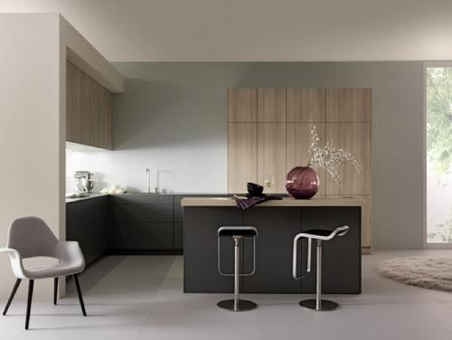 Минимализм в интерьере кухни. Фото 6