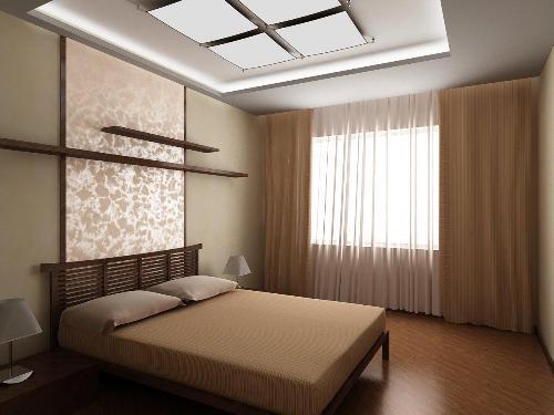 Минимализм в интерьере спальни. Фото 4