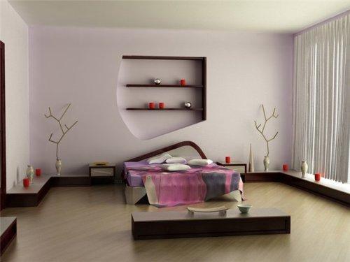 Минимализм в интерьере спальни. Фото 6