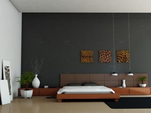 Минимализм в интерьере спальни. Фото 7