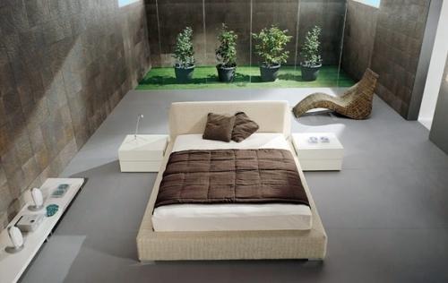 Минимализм в интерьере спальни. Фото 8