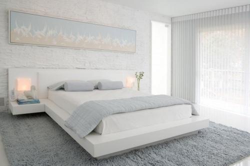 Минимализм в интерьере спальни. Фото 9
