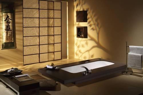 Минимализм в интерьере ванной. Фото 4
