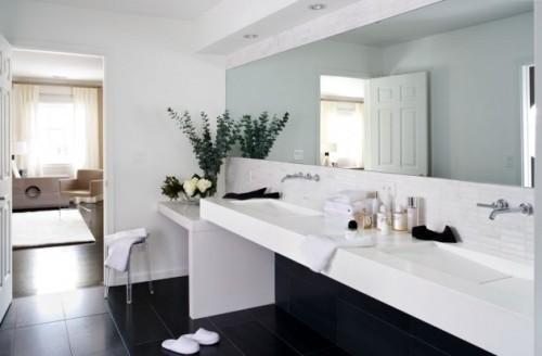Минимализм в интерьере ванной. Фото 6