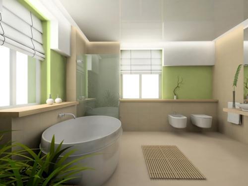 Минимализм в интерьере ванной. Фото 9