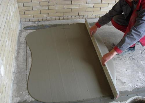 Минимальная толщина цементной стяжки