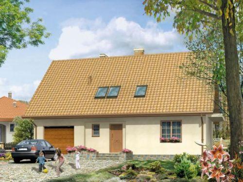 Одноэтажный дом с мансардой и гаражом. Фото 5