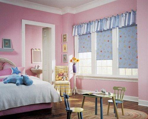 Оформление окна в детской. Фото 10