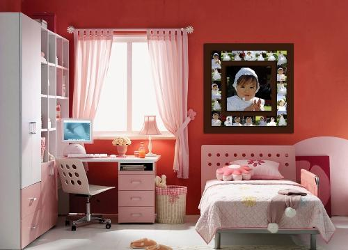 Оформление окна в детской. Фото 24